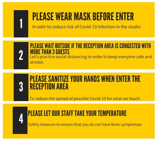 follow four safety steps for safe massage